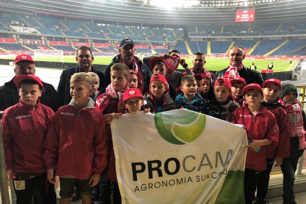 Zwycięzcy PROCAM CUP 2018 na meczu Polska-Portugalia