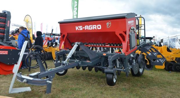 KS Agro Predator 2400 – wysiew traw w polskim wydaniu
