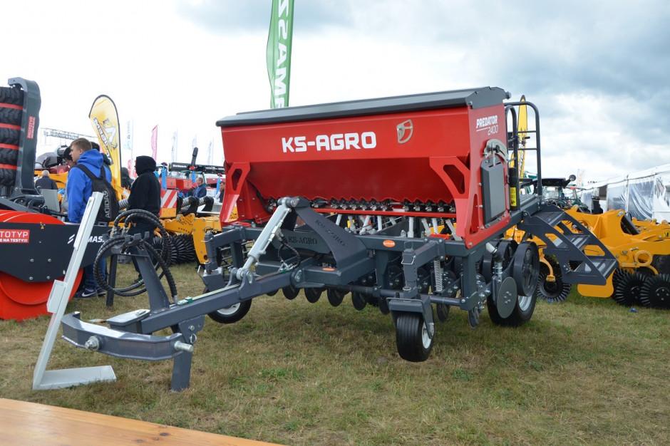 Premiera siewnika KS Agro Predator to nie lada wydarzenie, wszak rynek siewników do wysiewu trawy do największych nie należy, fot. mw