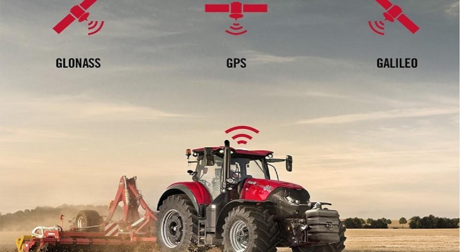Rolnicza nawigacja Case IH z mocą trzech systemów