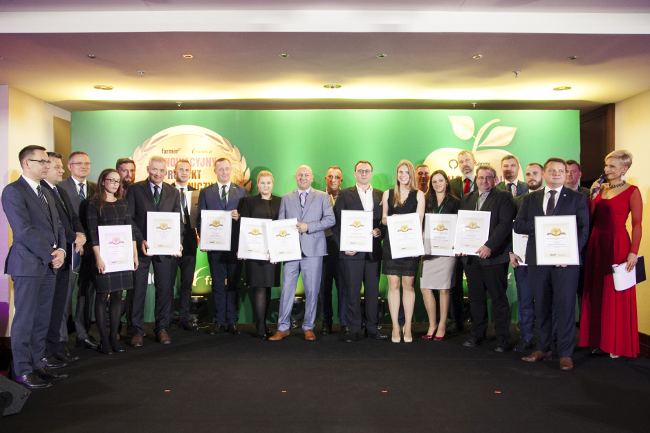 Laureaci konkursu Innowacyjny Produkt Rolniczy 2018