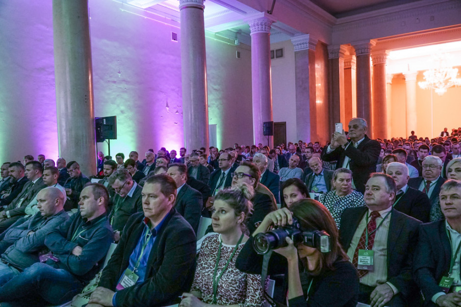 Tegoroczne edycje konferencji Narodowe Wyzwania w Rolnictwie oraz Sady i Ogrody zgromadziły rekordową liczbę gości, fot. M. Oleksy