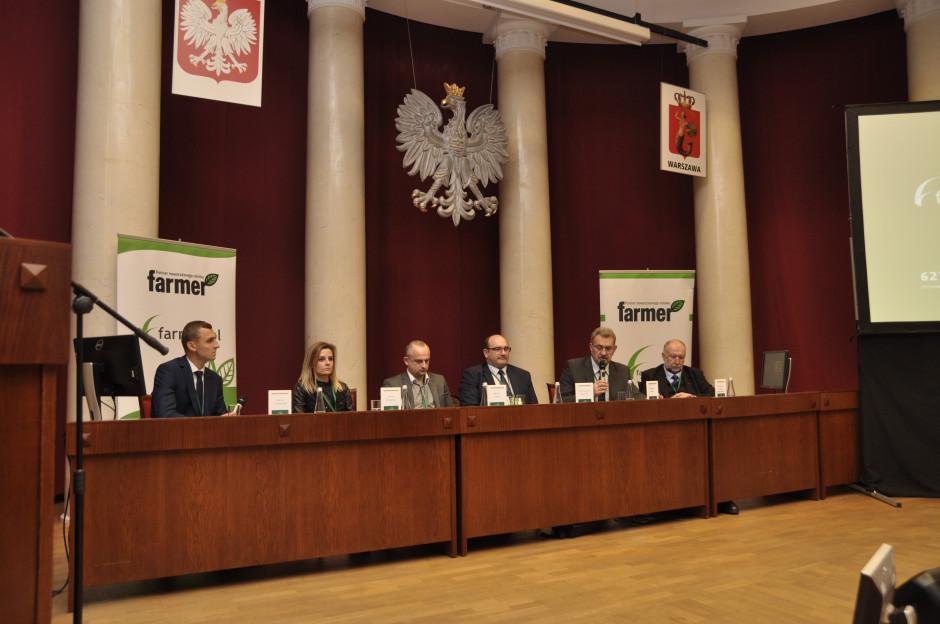 """Spotkanie w ramach bloku tematycznego produkcja mlek rozpoczęła debata, której hasłem przewodnim było: """"Polskie mleko w światowej skali"""", fot. A. Królak"""