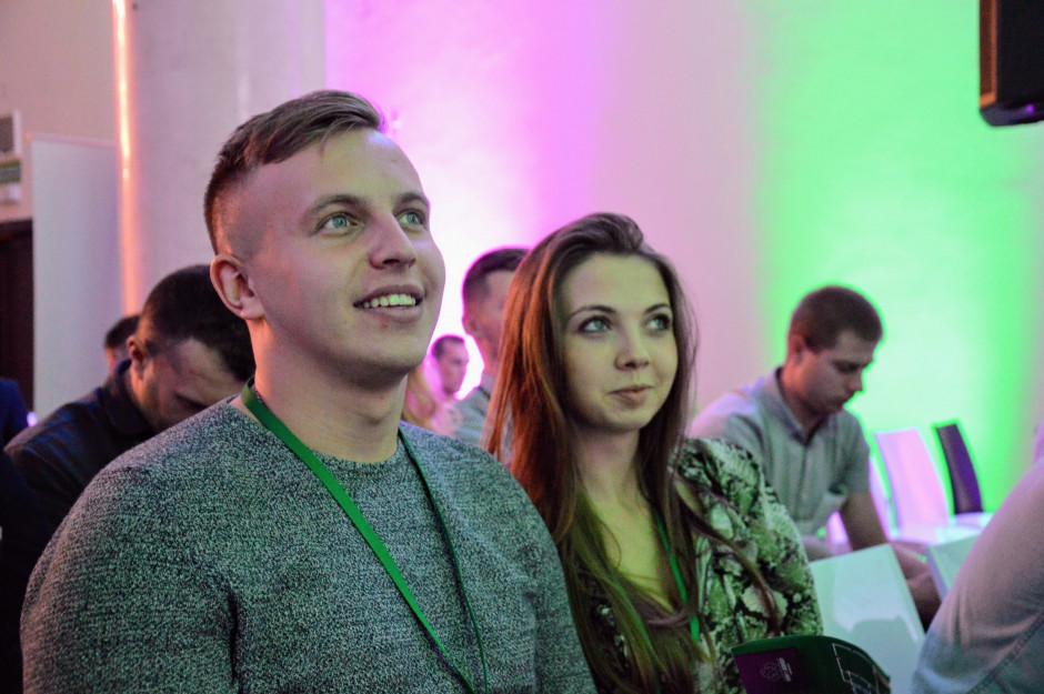 Studenci rolnictwa Szkoły Głównej Gospodarstwa Wiejskiego w Warszawie z dużym zainteresowaniem słuchali wystąpienia