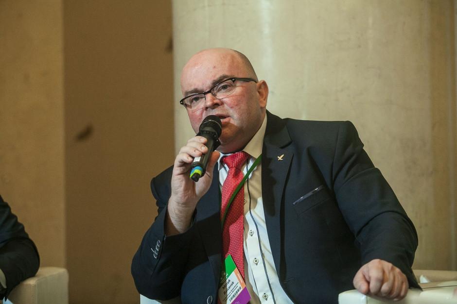 dr Marek Balcerak z SGGW - Najważniejsze to znaleźć złoty środek, źle dobrana maszyna to prosta droga do popadnięcia w kłopoty finansowe fot. Marek Misiurewicz