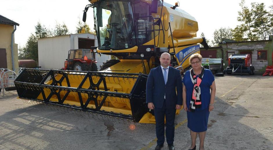 Nowe maszyny i sprzęt rolniczy dla uczniów