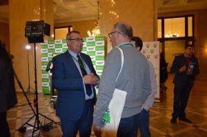 """Konferencja Farmera """"Narodowe wyzwania w rolnictwie"""" była okazją do zasięgnięcia porad od specjalistów; Fot. Katarzyna Szulc"""