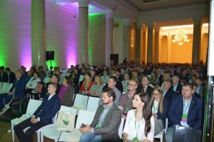 """Słuchacze sesji agrotechnicznej konferencji Farmera """"Narodowe wyzwania w rolnictwie""""; Fot. Katarzyna Szulc"""