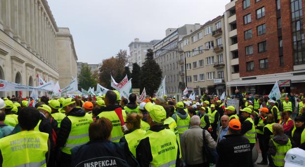 Inspekcja Weterynaryjna nie wyklucza zaostrzenia protestu