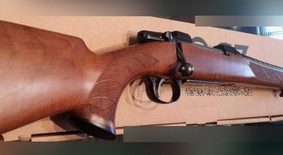 Myśliwy zgubił broń wracając z polowania