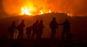 Pożar po czeskiej stronie Parku Narodowego w Karkonoszach