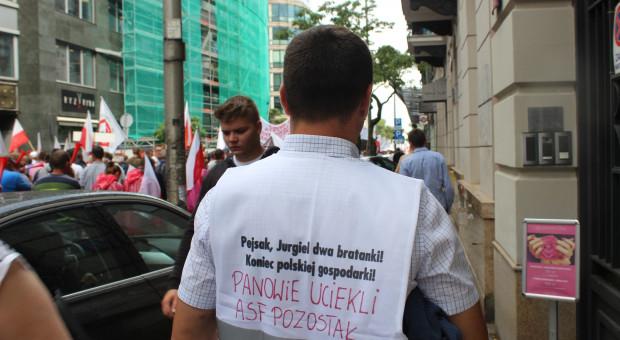 AGROunia nie zostawi ASF – szykuje się do protestu rolników