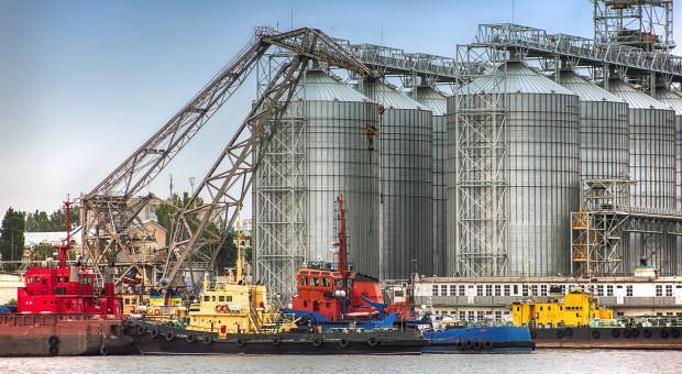 Wiceminister rolnictwa Ukrainy: Stan wojenny nie wpływa na dostawy zbóż