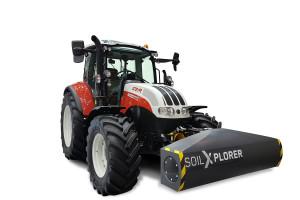 Steyr prezentuje czujnik gleby SoilXplorer