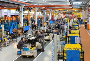 Nowe linie produkcyjne w fabryce w Treviglio; fot. firmowe