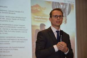 Dominik Młodecki, dyrektor zarządzający i członek zarządu K+S Polska mówił, że dzisiejsi  rolnicy to