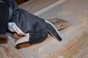 Rękawice Winter Base dobrze chronią przed otarciami a jednocześnie, dzięki wykorzystaniu koźlej skóry, są bardzo komfortowe