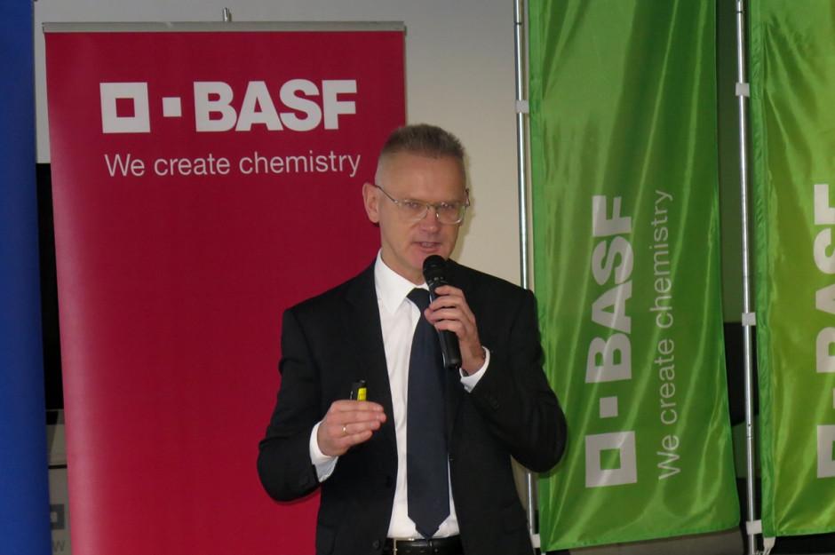 Cezary Urban – dyrektor działu BASF Agricultural Solution podsumował sytuację rynkową firmy za rok 2018; Fot. W. Denisiuk