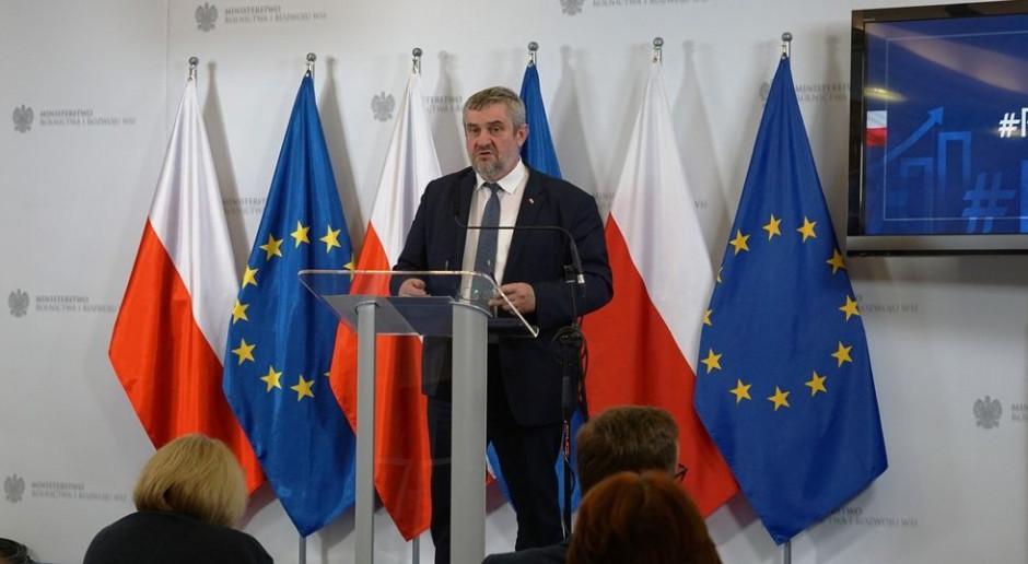 Ardanowski: Trzy lata to w rolnictwie epoka