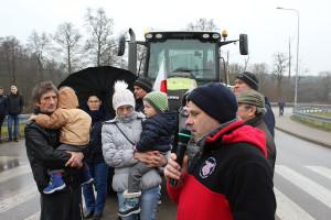 Rolnicze postulaty i przyczyny protestu wyjaśniał Janusz Terka związkowiec rolniczej Solidarności