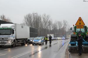 Nad przebiegiem akcji czuwali policjanci
