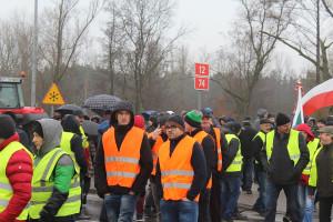 Wśród protestujących było wielu młodych rolników