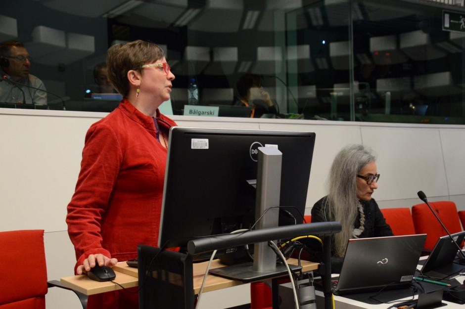 Ulrike Muller - poseł do Parlamentu Europejskiego, gdzie zasiada w komisji ds. rolnictwa i rozwoju obszarów wiejskich fot. Hanna Jarosławska