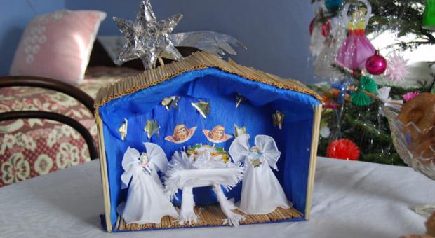 """Dawne obrzędy i zwyczaje na wystawie Boże Narodzenie na Mazowszu"""" w skansenie w Sierpcu"""