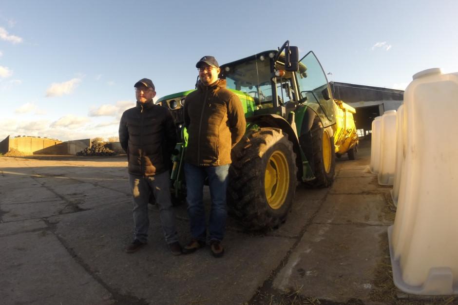 Gospodarstwem Delta-Agro zarządzają Radosław Tymiec i Bartłomiej Grabarczyk, fot.kh