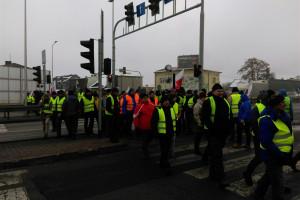 Producenci drobiu zakończyli protest w Siewierzu, w woj. śląskim [Zdjęcia]