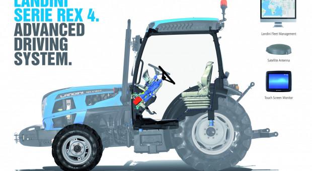 Landini Rex 4 z innowacyjnym systemem wspierania kierowcy ADS