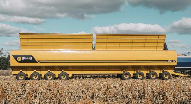 Wóz przeładowczy Coolamon o ładowności 200 ton