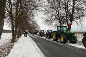 Rolnicy przez kilka godzin zamierzają spowalniać ruch na krajówce