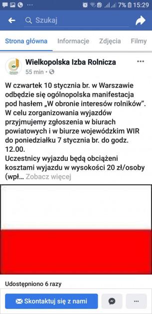 Źródło: Facebook/Wielkopolska Izba Rolnicza