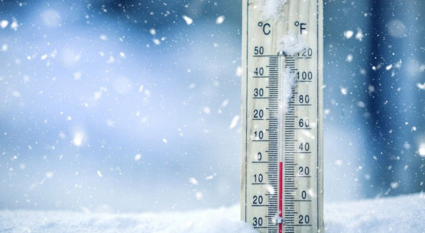 Ostrzeżenia przed silnym mrozem i intensywnymi opadami śniegu