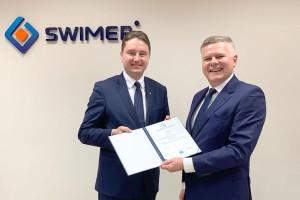Certyfikaty jakości i bezpieczeństwa dla Swimera