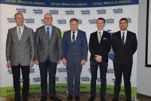 20 -lecie działalności Saaten-Union Polska
