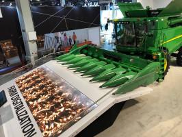 W tym roku John Deere jako pierwsza firma z branży maszyn rolniczych zameldowała się na targach elektroniki w Las Vegas, fot. materiały prasowe