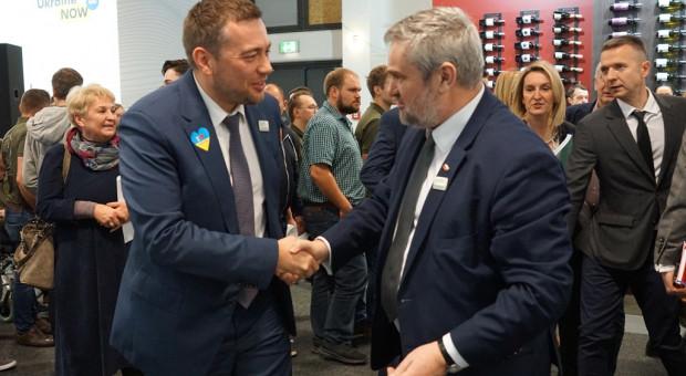Ardanowski rozmawiał na Gruene Woche z ministrem rolnictwa Ukrainy i Gruzji