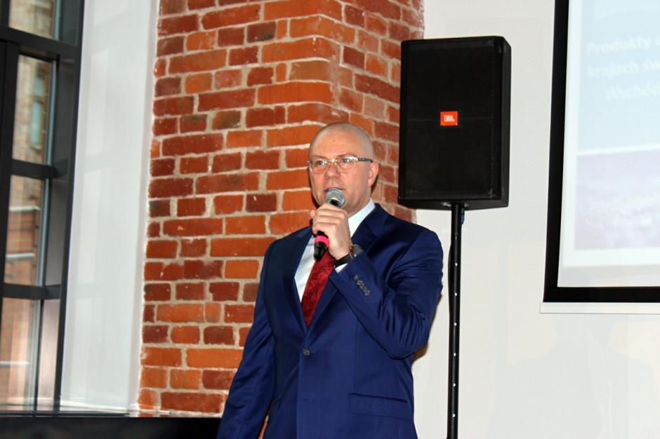 Mariusz Grelewicz, Prezes Zarządu Ciech Sarzyna; Fot. A. Kobus
