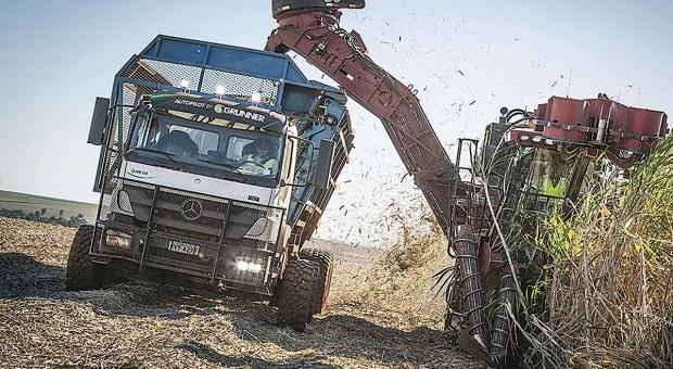 Mercedes w służbie rolnictwa