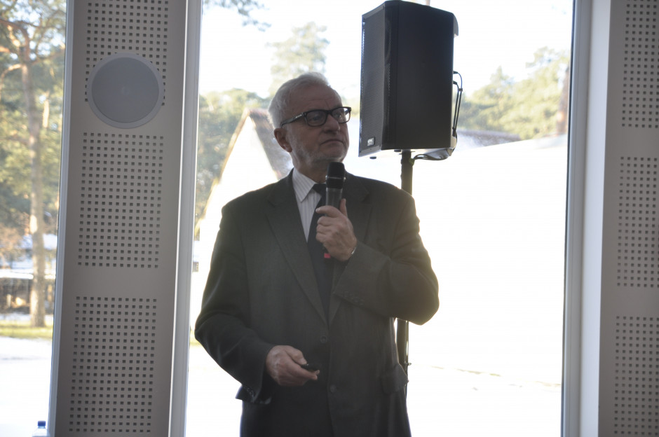 Prof. dr hab. Sławomir Podlaski z SGGW w Warszawie.