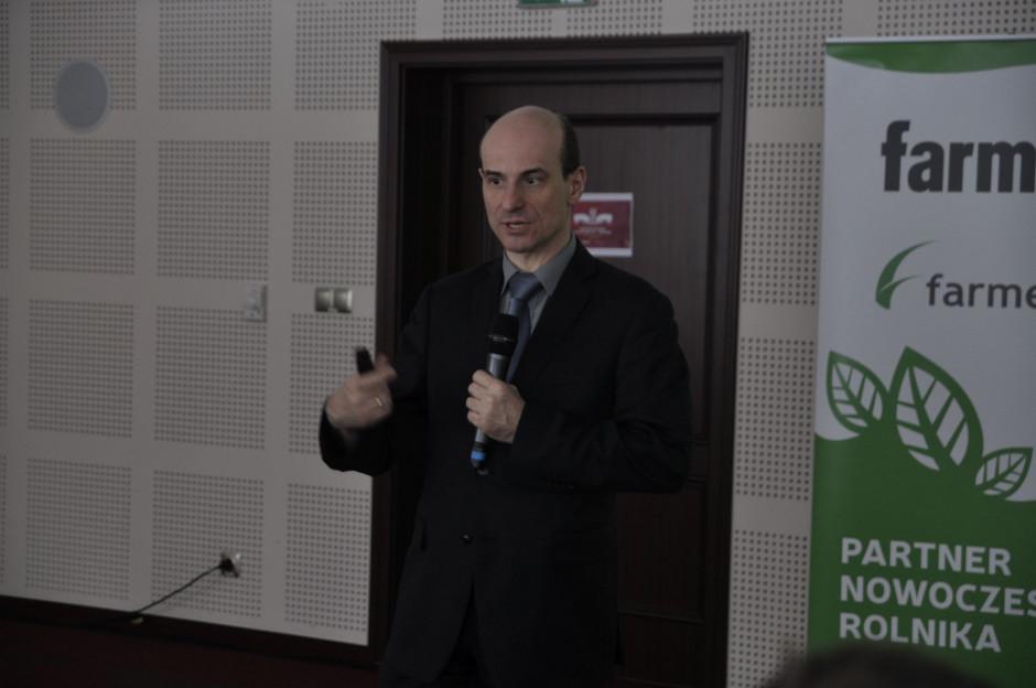 dr Tomasz Schwarz z Uniwersytetu Rolniczego w Krakowie, fot. A. Królak