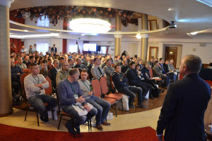 Sala konferencyjna pękała w szwach. Zgromadziło się na niej ponad 250 osób!