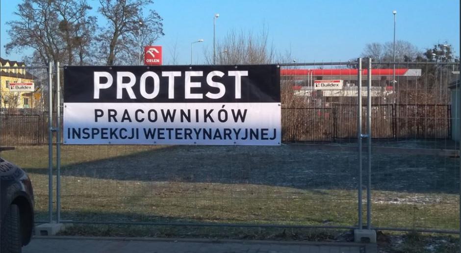 Nasze zarobki to kpina - Inspekcja Weterynaryjna zaostrza protest
