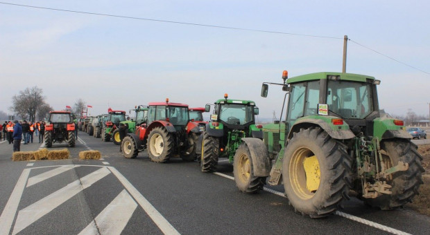 Kujawsko-pomorskie: objazd na dk 25 w związku z protestem rolników