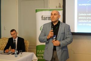 O maksymalizacji produkcji mleka z pasz objętościowych mówił dr Marcin Gołębiewski, fot.ID