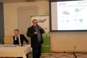 Grzegorz Kędzierski przedstawił rozwiązania automatyzacji procesu karmienia oferowane przez firmę Pellon, fot.ID