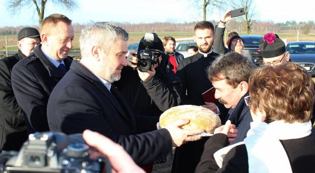 Minister Ardanowski otworzył nową chlewnię [zdjęcia]