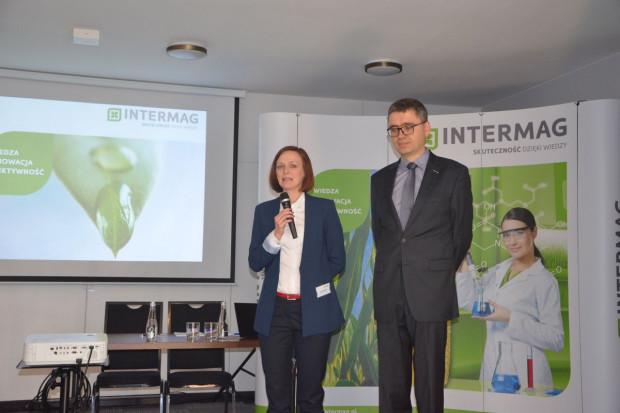 Anna Tomczak i Hubert Kardasz podczas otwarcia konferencji, fot. M. Tyszka